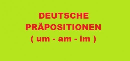 Deutsche Präposition