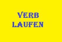VERB LAUFEN