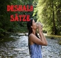 DESHALB SÄTZE