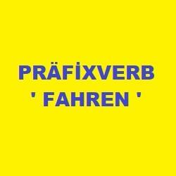 Präfix verb fahren