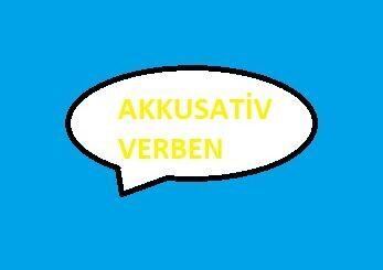 Akkusativ Verben