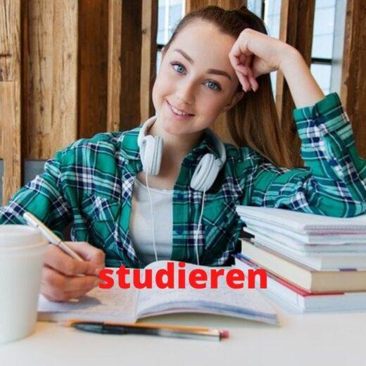 Verb studieren