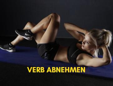 VERB ABNEHMEN